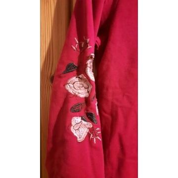 Bluzka rozmiar 150 z motywem kwiatów