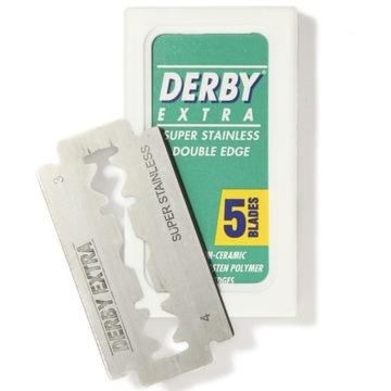 Żyletki dwustronne Derby Extra 5 szt.