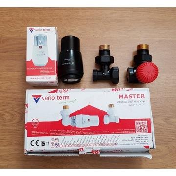 Vario Term zawór termostatyczny Master czarny