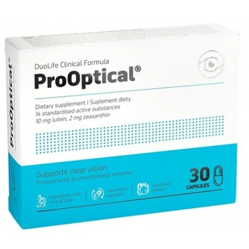 DuoLife Clinical Formula ProOptical 30 tab. NEW