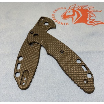 Rick Hinderer scala noża Slippy włókno węglowe