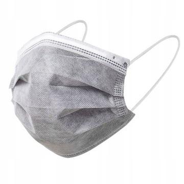 Maska Maseczka Ochronna Higieniczna 4 Warstwowa