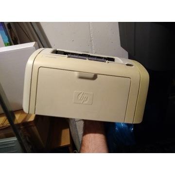 Drukarka HP 1018 - używana jedynie w domu