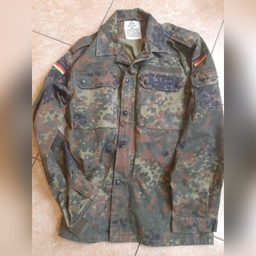 Bluza Bundeswehr Flecktarn Rozm. 8 -jak nowa