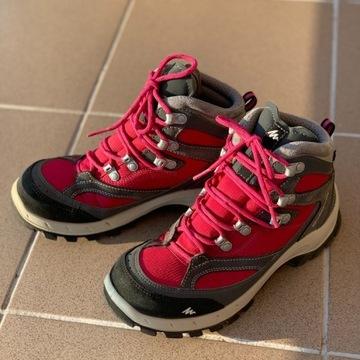 Buty trekkingowe w góry QUECHUA rozmiar 37 23,5 cm