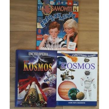 Kosmos Eksperymenty książki zestaw edukacyjny