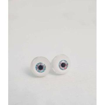 BJD Dollfie brokatowe oczy 6 mm YoSD akrylowe