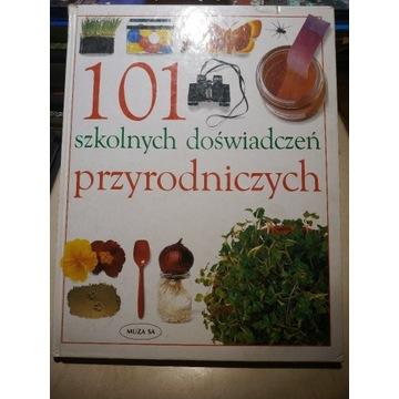 Książka 101 szkolnych doświadczeń przyrodniczych