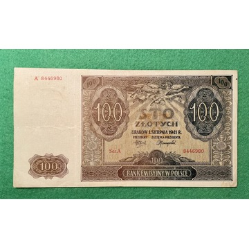 100 zł  z 1941r.