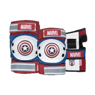 Komplet ochraniaczy dziecięcych Captain America(M)