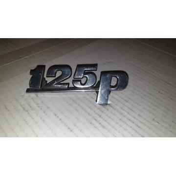 Fiat 125 znaczek firmowy.