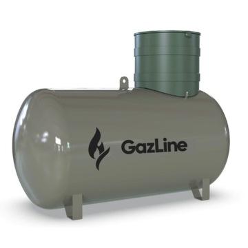Zbiornik, butla na gaz propan LPG 4850L. podziemny