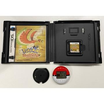 Pokemon HeartGold + Poke Walker, wersja ENG