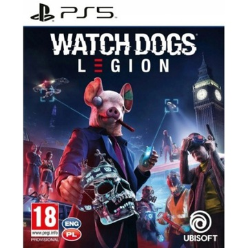 WATCH DOGS LEGION PS5 PL PLAYSTATION 5