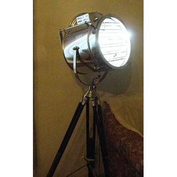 Industrialna -(marynistyczna)lampa stojąca