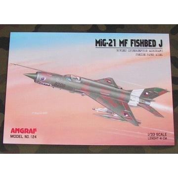 ANGRAF - MIG-21 MF FISHBED  J