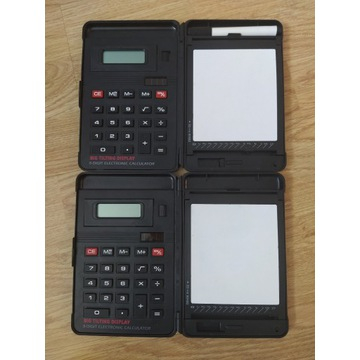 Stary kalkulator big tilting display 2 sztuki