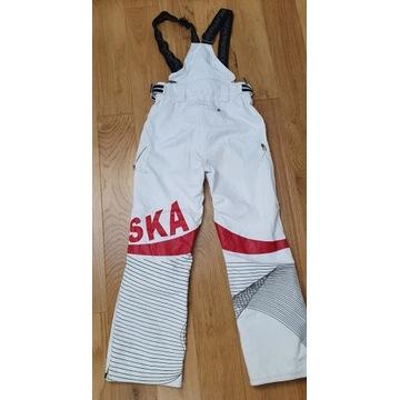 Spodnie zimowe narciarskie kolekcjonerskie 4F