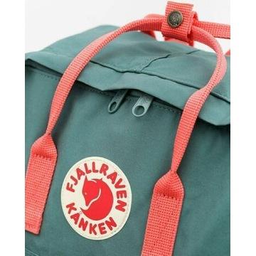 Kanken plecak 16 litrowy Green/Peach