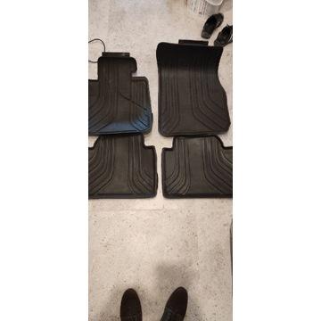 Oryginalne dywany dywaniki gumowe BMW F30 F31 kpl