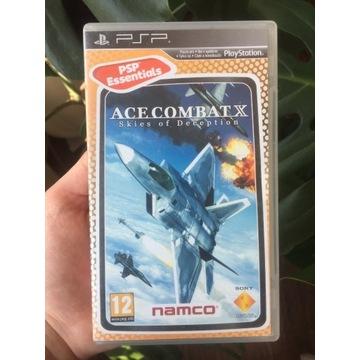 Gra ace combat X skies of deception psp