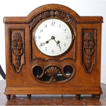 LENZKIRCH zegar kominkowy,bufetowy 38cm x 38 cm