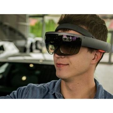 Microsoft HoloLens - rzeczywistość rozszerzona AR