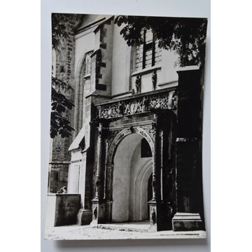Jawor Renesansowy portal kościoła Św. Marcina 1971