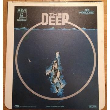 CED Videodisc Głębia The Deep - VINTAGE - RZADKOŚĆ