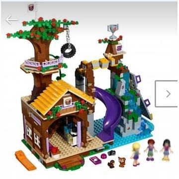 Friends domek na drzewie-jak 41122-GRATIS wysylka!