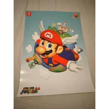 Plakat Super Mario 3D All Stars Super Mario 64