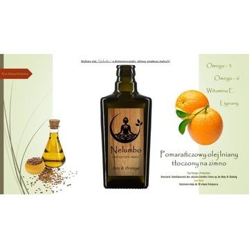 Pomarańczowy olej lniany  PROMOCJA!