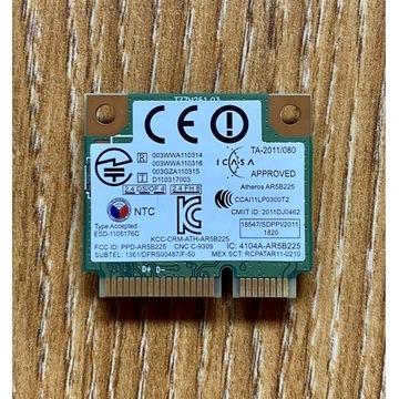 Karta sieciowa WiFi Atheros AR5B225 Sony VAIO