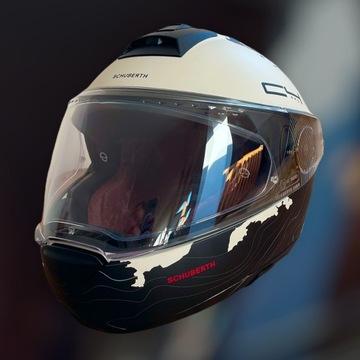 Kask Schuberth C4 Pro S Magnitudo White + Intercom