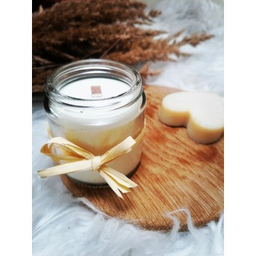 Naturalna świeca sojowa