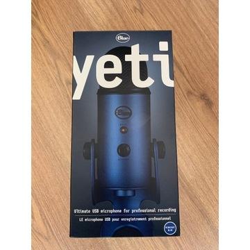 Mikrofon biurkowy Blue Yeti + filtr pop