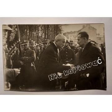 Wojsko Sztandar II RP Uroczystości Oryginał