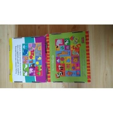 Puzzle podłogowe nauka angielskiego i piankowe