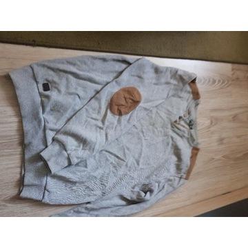 Sweter męski szary marki Rodos rozmiar L