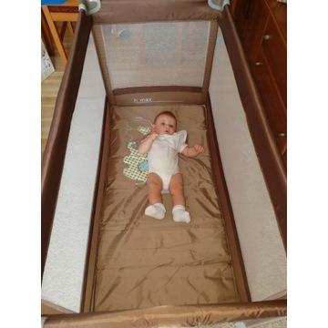 Łóżeczko turystyczne Baby Design Simple +materacyk