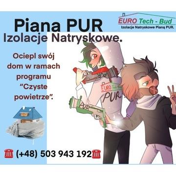 Piana PUR - Izolacje Natryskowe.