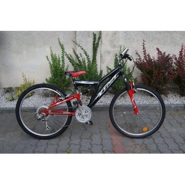 Juniorski rower górski full YTEC 24'' koła KIELCE