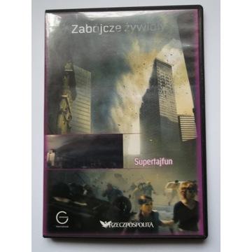 Zabójcze żywioły - Supertajfun. Film DVD
