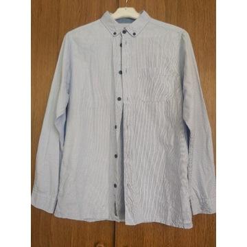Koszula niebieska chłopięca 170 cm