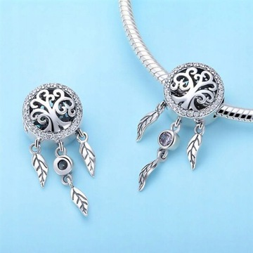 charms srebro do Pandory