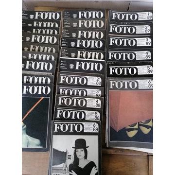 """Stare czasopisma """"Foto"""" i """"Fotografia"""""""