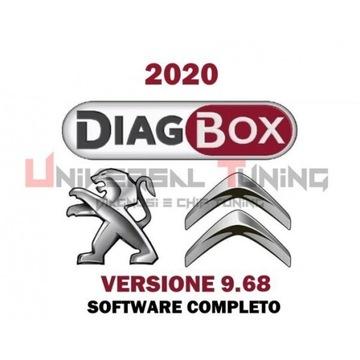 Diagbox 9.68 Lexia PP2000- samochody 2020 rok