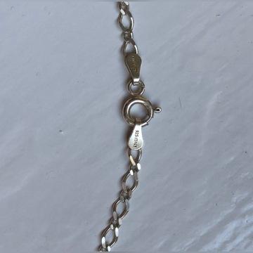 Srebrny Łańcuszek JULITA 925