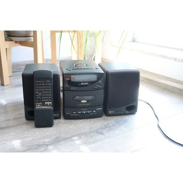 Wieża Sharp CD-Q8 micro Hi-Fi system 95W