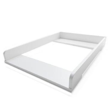 Przewijak sztywny nakładka na komode biały